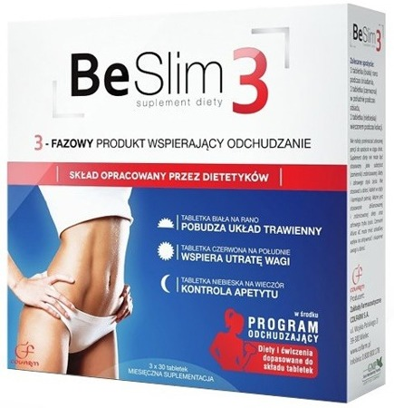 BE SLIM 3 - 90 tabletek